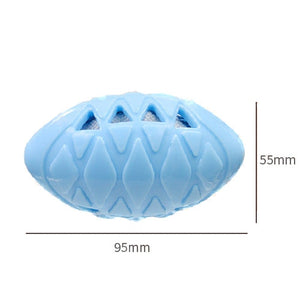 Pet Rubber Squeak Toy for Dog Training Chew Bone Puppy Pets Toys Cats Pets Supplies-home-betahavit-Blue-free size-betahavit