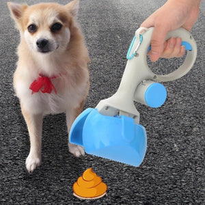 Pet Scooper Long Handle Scoop Clean Pick Up Animal Waste Dog Puppy Cat Waste Picker Cleaning Tools Outdoor-home-betahavit-betahavit