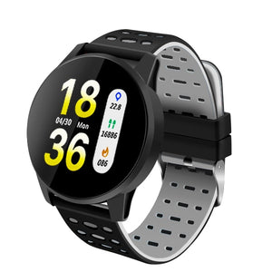 Heart Rate Monitor Smart Watch Men Blood Pressure Waterproof Activity Fitness tracker Sport Smartwatch Android ios for women-outdoor-betahavit-Black-betahavit