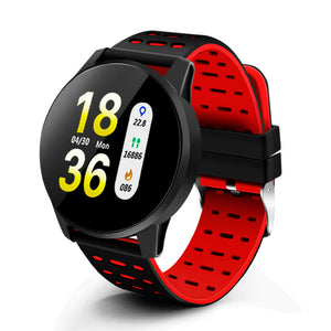 Heart Rate Monitor Smart Watch Men Blood Pressure Waterproof Activity Fitness tracker Sport Smartwatch Android ios for women-outdoor-betahavit-betahavit