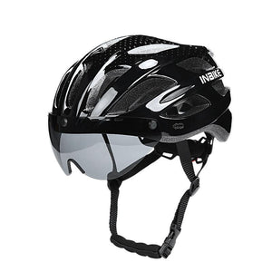 Bicycle Helmets Men Women MTB Road Bike Helmet Ultralight Integrally-mold Cycling Helmet With Glasses Riding Safely Cap-outdoor-betahavit-betahavit