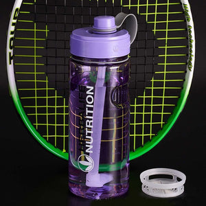 1000ml Herbalife nutrition water bottle 24Fit Milk Shake Bottle straw bottle sports bottle plastic Space Bottle Wholesale-home-betahavit-1000ml purple-betahavit