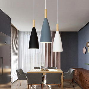 Modern Pendant Lamp Nordic Pendant Light for Dinning Room Restaurant Bedroom LED Hanging Lamp E27 Aluminum LED Night Lighting-home-betahavit-betahavit