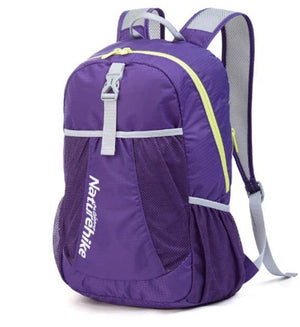 22L Ultralight Sport Backpack Travel Backpack Outdoor Leisure School Backpacks Bags NH15A119-B-outdoor-betahavit-Purple Color-China-betahavit