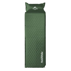 Sleeping Mattress Self-Inflating Pad Portable Bed with Pillow Camping Mat Single Person Foldable NH15Q002-D-outdoor-betahavit-Green-betahavit