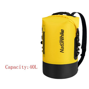 420D TPU Waterproof Bag Outdoor Dry Bag River Trekking Bags Waterproof Backpack NH18F031-S-outdoor-betahavit-Yellow40L-betahavit