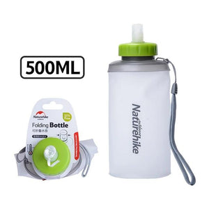 500ML Mini Sports Bottle Water Bottles Outdoor Cup Portable Silicone Folding Drinkware With Straw NH61A065-B-outdoor-betahavit-500ML White-betahavit