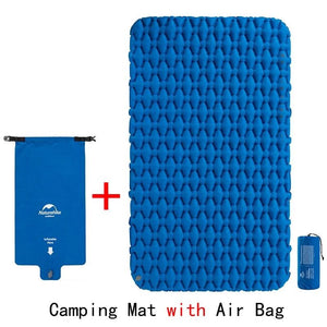 Lightweight Moisture-proof Air Mattress Nylon TPU Sleeping Pad Inflatable Mattress Camping Mat For 2Person NH19Z055-P-outdoor-betahavit-betahavit