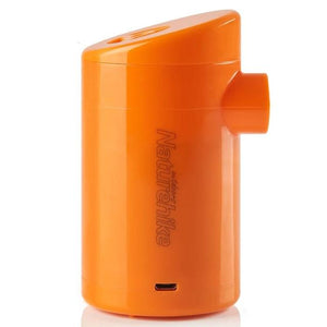 Portable inflatable be chargable/car power air pump for camping mattress NH17C100-B-outdoor-betahavit-Orange with battery-China-betahavit