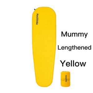Self-inflating Camping Mat Outdoor Hiking Camping Mattress High Quality Sponge Sleeping Pad NH19Q034-D-outdoor-betahavit-Mu-lengthened-yellow-betahavit