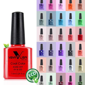 New Nail Art Design Manicure 60Color 7.5ml Soak Off Enamel Gel Polish UV Gel Nail Polish Lacquer Varnish-beauty-betahavit-betahavit