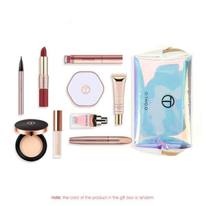 10pcs/set Makeup Kit Include Liquid Highlighter Concealer Matte Lipstick Pressed Powder Mascara Eyeliner Cosmetics Bag-beauty-betahavit-10pcs-betahavit