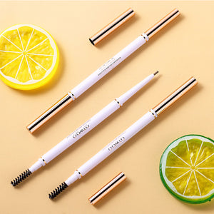 4pcs/set Brown Eyebrow Pencil Long Lasting Ultra Fine 1.5mm Thin Eye Brow Makeup Kit-beauty-betahavit-4pcs in one set-CHINA-betahavit