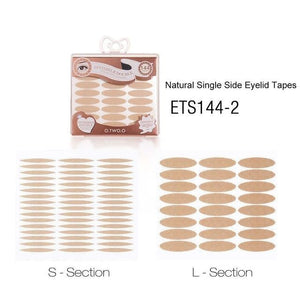 Double Eyelid Tape 144 Pairs S/L Long Lasting Waterproof Eye Lift Invisible Natural Eye Tape Makeup Tools With Box-beauty-betahavit-nude color S L-betahavit