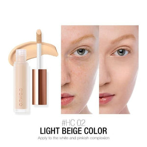 Face Concealer Makeup Full Coverage Tattoo Dark Circles Modify Skin Tone Waterproof Long Lasting Liquid Concealer-beauty-betahavit-02 light beige color-CHINA-betahavit