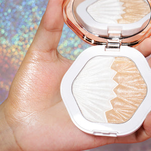Shell Highlighter Makeup For Body Face Radiance Long Lasting Fluorescence Contouring Highlighters Powder Palette Bronzer-beauty-betahavit-Opal-betahavit