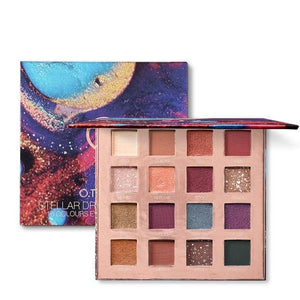 Stellar Romance Eyeshadow Palette 16 Colors Charming Pigment Eye Shadow Matte Shimmer Glitter Powder Lasting Makeup-beauty-betahavit-9996-betahavit