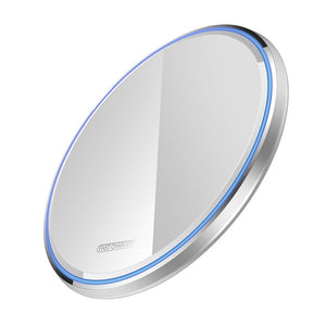 10W Qi Wireless Charger For iPhone X XS Max XR 8 Plus Mirror Fast Wireless Charging Pad For Samsung S9 S10 Note 9 8-electronic-betahavit-Mirror White-CN-betahavit