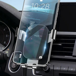 Foldable Car Phone Holder For iPhone X XS Samsung Huawei Gravity Dashboard Paste Mobile Phone Stand Universal Smartphone-electronic-betahavit-China-Air Vent Black-betahavit