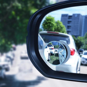 Frameless Convex Rear View Mirror Car 360 Degree HD Blind Spot Convex Mirror Rearview Waterproof Wide Angle Rimless Mirrors-electronic-betahavit-White-betahavit