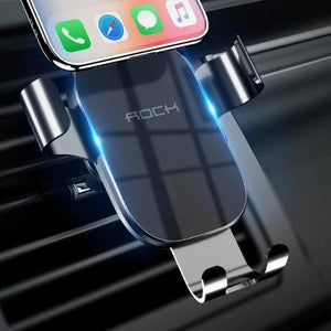Gravity Car Phone Holder 360 Rotation Mobile Phone Stand Car Air Vent Mount Holder Universal Bracket For iPhone Samsung-electronic-betahavit-China-Air Vent Black-betahavit