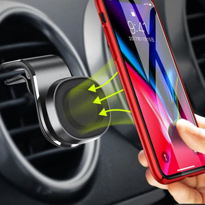 Magnetic Car Phone Holder 360 Degree Rotation Air Vent Mount Mobile Phone Stand Bracket For iPhone 11 X Samsung S9 Xiaomi-electronic-betahavit-betahavit