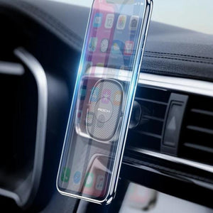 Mirror Gravity Car Phone Holder For iPhone 11 X XS Samsung Huawei Dashboard Air Vent Paste Mobile Phone Stand Universal-electronic-betahavit-China-Magnetic Air Vent-betahavit