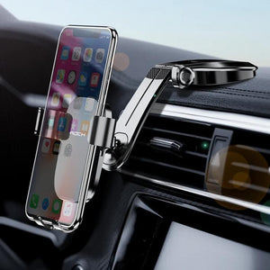 Mirror Gravity Car Phone Holder For iPhone 11 X XS Samsung Huawei Dashboard Air Vent Paste Mobile Phone Stand Universal-electronic-betahavit-betahavit
