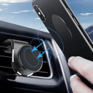 New Upgrade Metal Magnetic Car Phone Holder For iPhone 11 XS MAX X Xiaomi Samsung 360 Degree Magnet Stand Mount Bracket-electronic-betahavit-betahavit