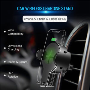 Fast Wireless Car Phone Charger for iPhone X XS XR 8 Plus Samsung S9 S8 Plus S7 Note 8 Mount-electronic-betahavit-China-Universal-betahavit