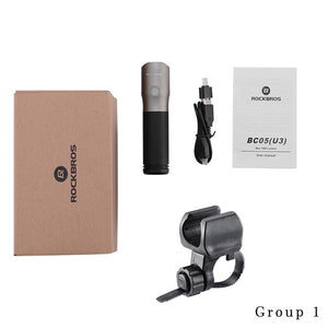 1000 Lumen Bike Bicycle Light Waterproof IPX6 USB Rechargeable 18650 3000 mAh Power LED Bank Flashlight MTB Accessories-outdoor-betahavit-Group 1-China-betahavit