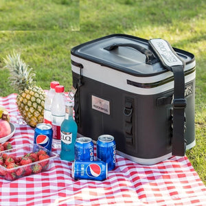 22L Outdoor Picnic Cooler Picnic Basket Multifunctional Large Capacity Durable Waterproof Hiking Camping Bag Cooler Box-outdoor-betahavit-betahavit