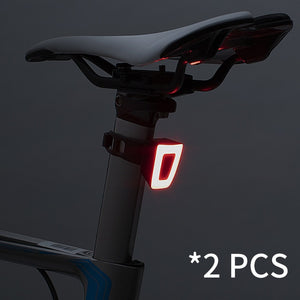 Bike Light Waterproof Cycling Helmet Taillight Lantern For Bicycle LED USB Rechargeable Safety Night Riding Rear Light-outdoor-betahavit-2 PCS-China-betahavit