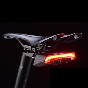 Bike Tail Light USB Rechargeable Wireless Waterproof MTB Safety Intelligent Remote Control Turn Sign Bicycle Light Lamp-outdoor-betahavit-China-betahavit