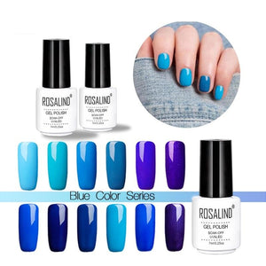 Gel 1S White bottle 7ml Blue Color Series Nail Gel Polish Soak-off LED UV Nail Varnish For Nail Beauty-beauty-betahavit-betahavit