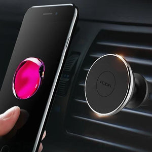 Phone Holder Magnetic For iPhone Xiaomi Huawei Air Vent Mount Mobile Smartphone Stand Magnet in Car-electronic-betahavit-Air Vent Rose Gold-betahavit