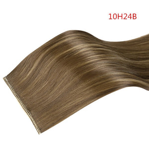 "20"" 24"" 28"" Synthetic Hairpieces Straight Hair Extension Clip-in Hair Extensions Highlight Hair High Temperature Fiber-hair-betahavit-10H24B-24inches-1 PC-betahavit"