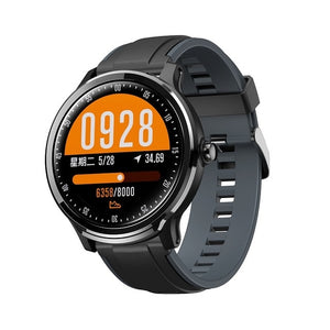 IP68 Waterproof full touch smartwatch screen heart rate blood pressure fitness track sports music camera-outdoor-betahavit-black-gray-betahavit
