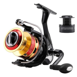 5.2:1/4.7:1 COMMANDER2000 3000 4000 5000 Spinning Fishing Reel 10BB Spinning Wheel Fishing Tackle +1P Free Spare Spool-outdoor-betahavit-10-3000 Series-betahavit