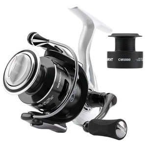 5.5:1 CM II 2000 3000 4000 5000 Spinning Reel for Spinning Fishing Carbon Fiber Drag System 7-13KG MAX Power 2 Spool-outdoor-betahavit-10-5000 Series-betahavit