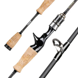 MANTA II 1.8M Lure Rod 602 UL Power Carbon Fishing Rod 2 Tips MF Action 3-7lbs 2-6g Spinning Casting Rod for Fishing-outdoor-betahavit-1.8M 602UL Spinning-China-betahavit