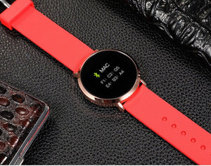 Android waterproof Blood Pressure Smartwatch Tracker Heart Rate Fitness intelligent smartwatch-outdoor-betahavit-Golden watch case-betahavit