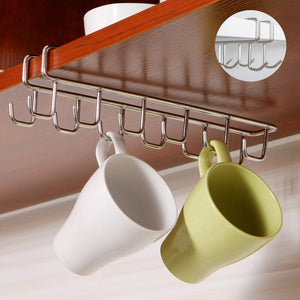 Stainless Steel Kitchen Storage Rack Cupboard Hanging Hook Shelf Dish Hanger Chest Storage shelf Bathroom Organizer Holder-home-betahavit-China-betahavit