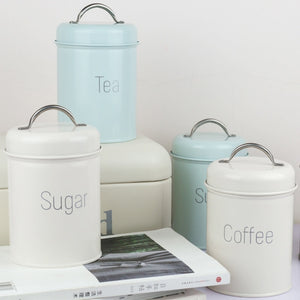 Storage Tank Cover Steel Kitchen Utensils Multifunction Square Box Sealed Cans Coffee Pots Candy Tea Beans Milk Powder Cans-home-betahavit-betahavit