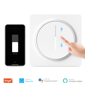 Tuya Smart Wifi Dimmer Switch, Touch Dimmable Panel Light Switch EU 100-240V, Compatible with Alexa Google Home, No Hub Required-home-betahavit-Smart Dimmer Swtich-betahavit