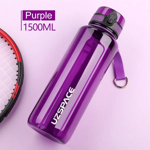 1.5L Water Bottle BPA Free Large Capacity Portable Sport Shaker Drink Bottle Leakproof Drinkware Outdoor Climbing bottle-home-betahavit-betahavit