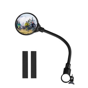 Bike Rear Mirrors MTB Road Bike Rear View Mirror Cycling Handlebar Back Eye Blind Spot Mirror Bicycle Mirror-outdoor-betahavit-Black-betahavit