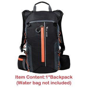 10L Sport Backpacks Foldable Bike Bag Travel Mountaineering Bag Women Men Back Pack Hold Water Cycling Bicycle Bag-outdoor-betahavit-Orange Bag only-betahavit