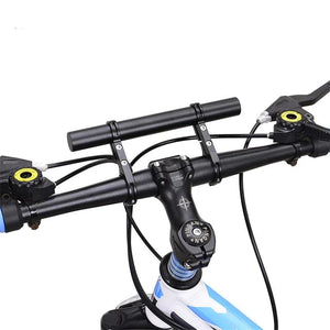 Bicycle Double Handlebar Extender Mountain Bike Flashlight Torch Mount Lamp Bracket Holder Flashlight Lamp Holder-outdoor-betahavit-betahavit