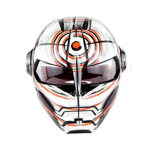 Bicycle Full-face Helmet Cool Motorcycle Helmet Adjustable Size Retro Style Riding Cycling Personalized Helmet-outdoor-betahavit-Vortex L-betahavit